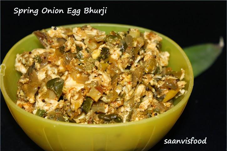 Spring Onion Egg Bhurji