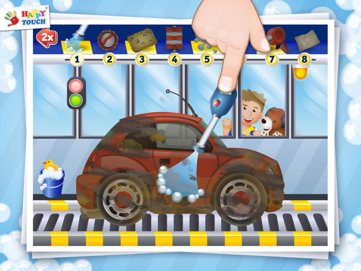 A Funny Cars Wash Game for Kids – Kids Games Free App iTunes App By concappt media - FreeApps.ws