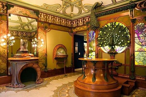 Johan conradie in paris mucha 39 s belle epoque jewellery shop at the mus e - Belle epoque interiors ...