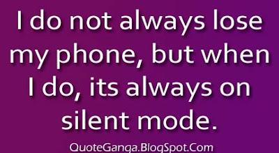 losing phone