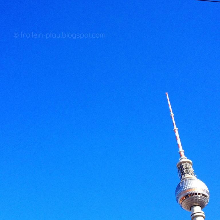 Berlin, Reisen, Fernsehturm, Alex, Alexanderplatz, Sightseeing, Hauptstadt, blauer Himmel