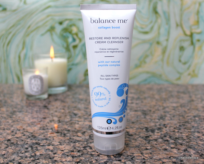 one little vice beauty blog: balance me new cleanser