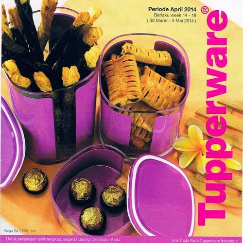 Katalog Tupperware Activity April 2014