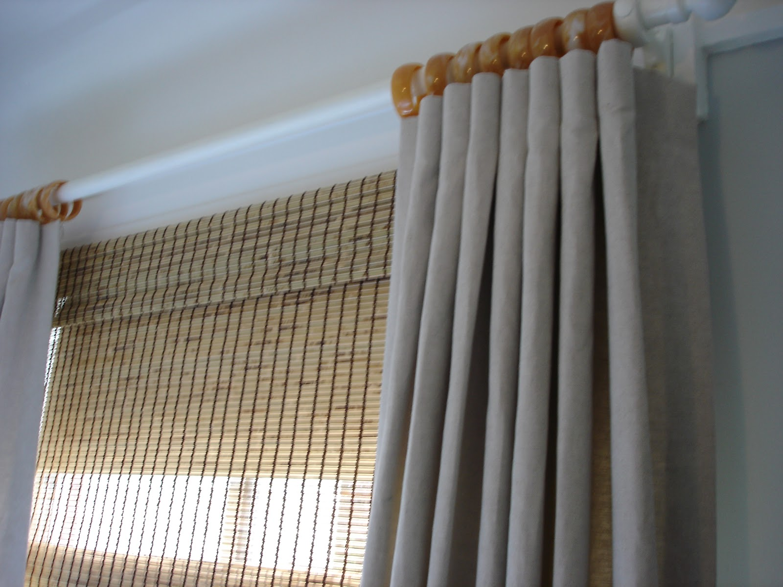 Pleated Curtains For Curtain Box : Thoughts and ideas: Heading for curtains