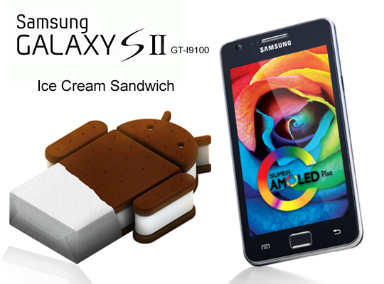 SAMSUNG GALAXY S2 Original ICE Cream Sandwich ICS 4.0 Firmware Upgrade