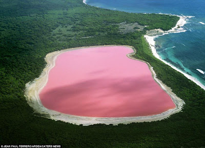 Hillier Lake of Western Australia