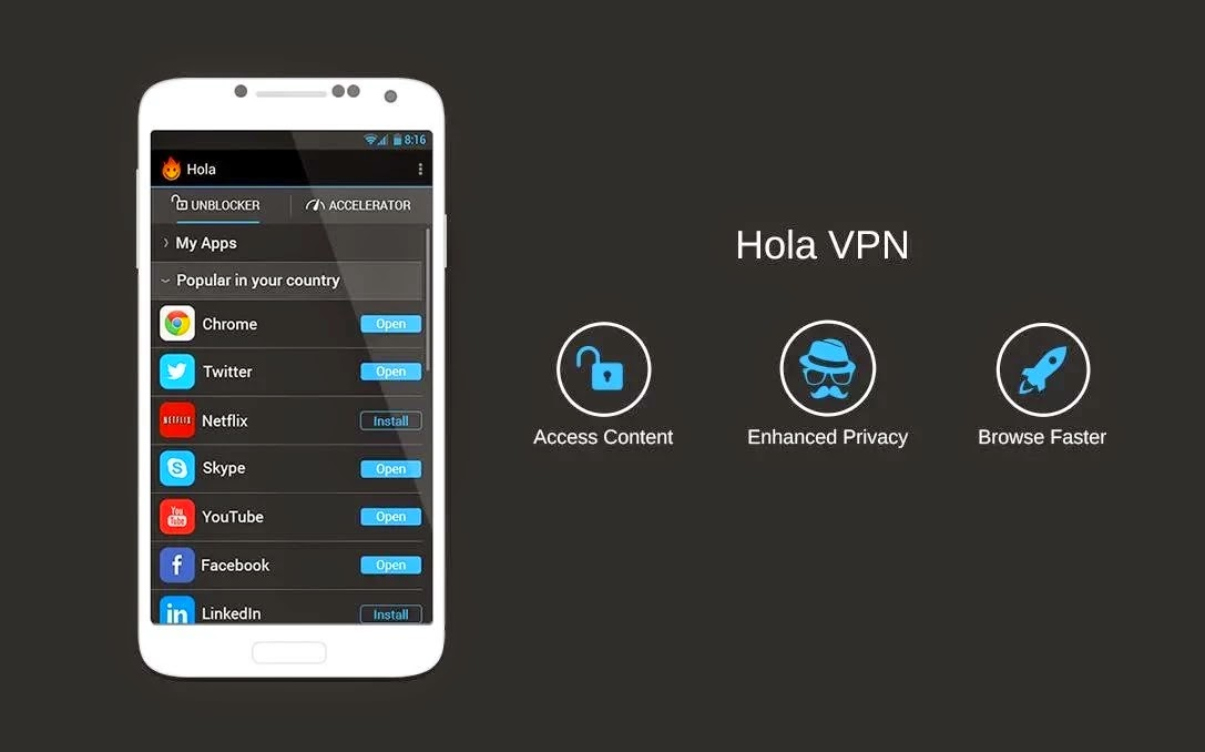 Hola Better Internet vARM5_1.4.623 APK