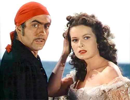 """""""El Cisne Negro"""" Tyron powel-maureen o'hara"""