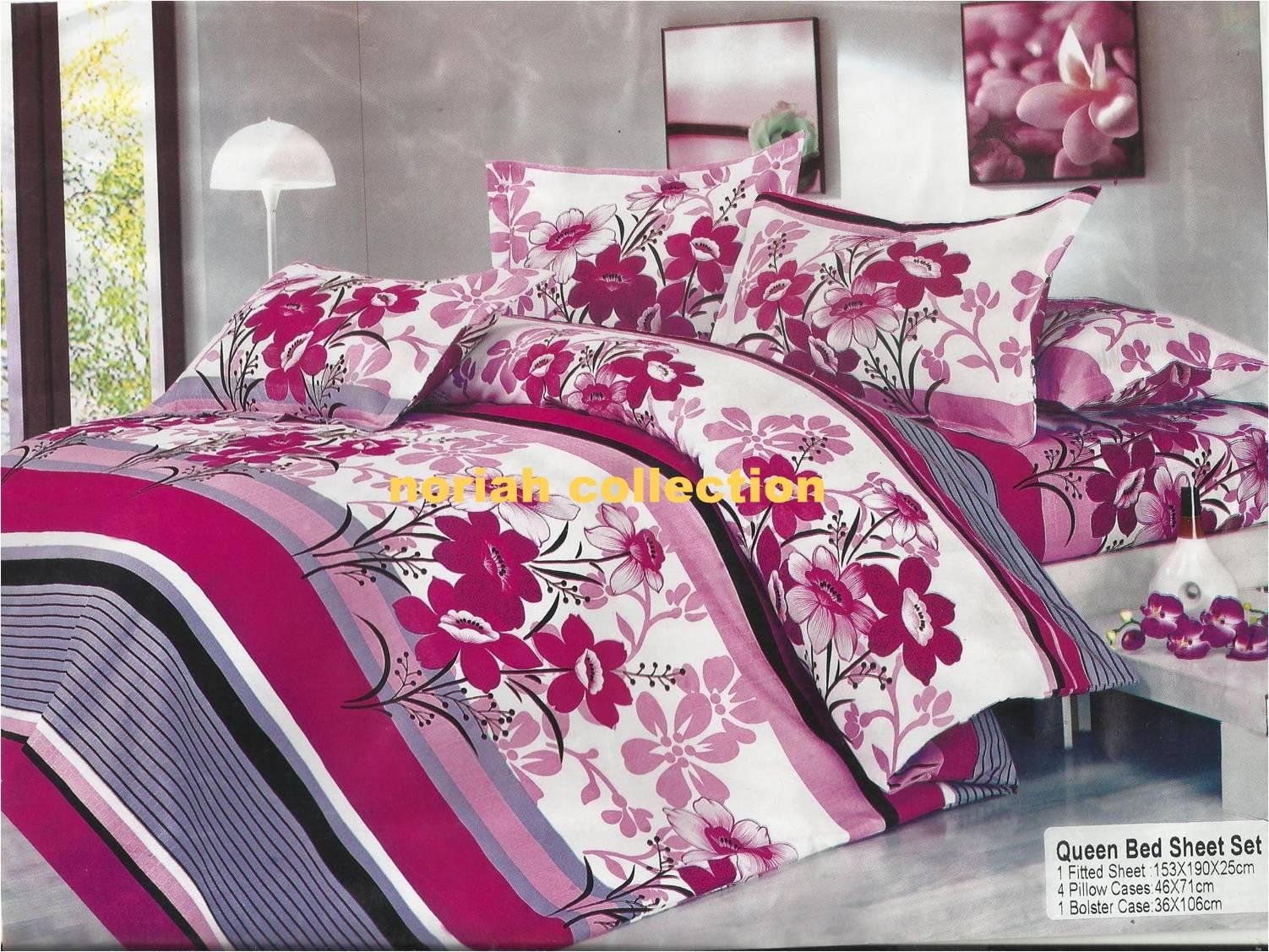 Noriah Corner Cadar Queen Fitted Comforter