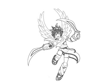 #29 Pit Coloring Page