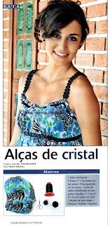 COMO FAZER BIJUTERIAS E ALÇAS DE BLUSA COM ENTRELAÇAMENTO EM CRISTAIS PASSO A PASSO