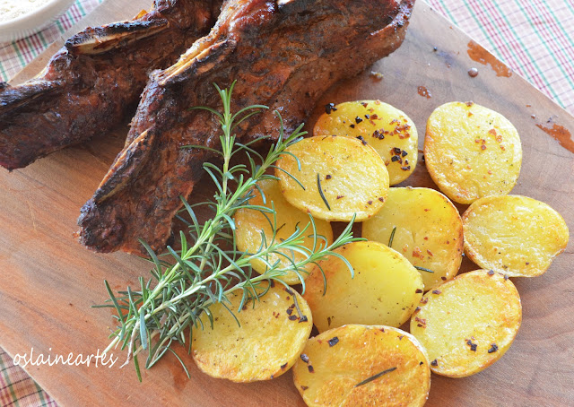 Batatas Grelhadas com Alecrim