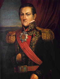 Brigadier General JUAN MANUEL DE ROSAS (Buenos Aires 30/03/1793 – Inglaterra 14/03/1877).