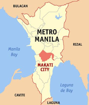 The Makati City in the Philippines