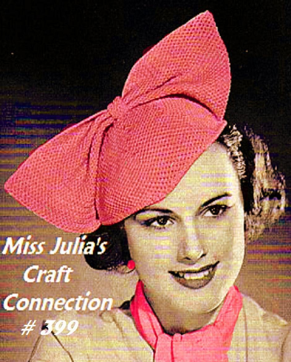 Miss Julias Vintage Knit Crochet Patterns Free Funky ...