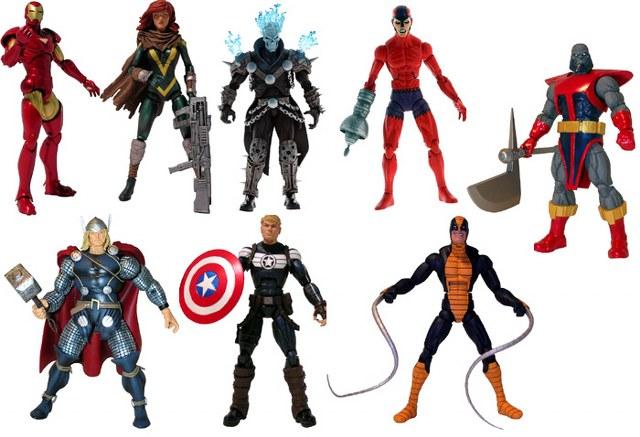 MARVEL LEGENDS Marvel-Legends-Terrax-wave1-series-BAF-figures_640x437