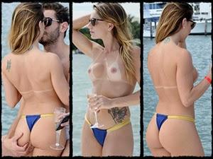 Marianne Ranieri Fotos Fazendo Topless em Miami