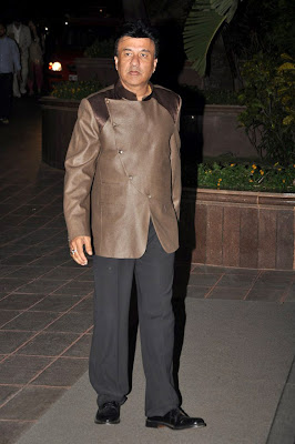 Anu Malik at Sunidhi Chauhan's wedding reception