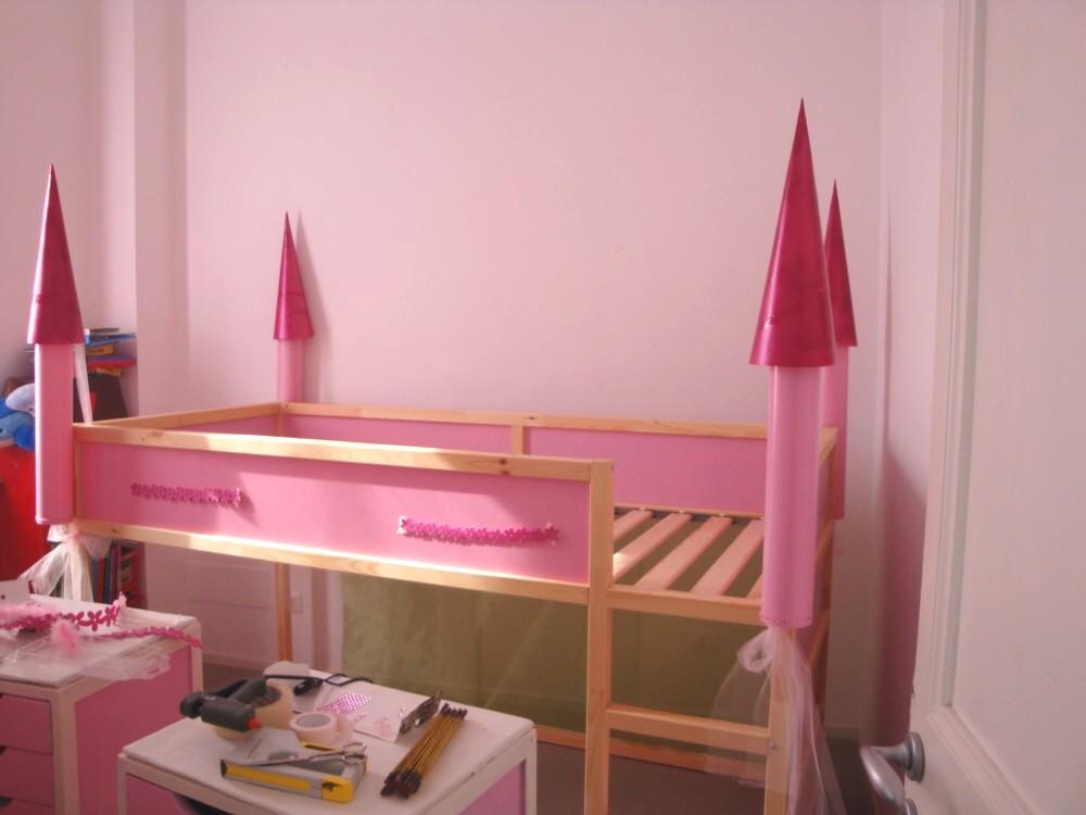 Letto Kura Doppio : Diy: a castle bunk bed letto a castello a creative anna