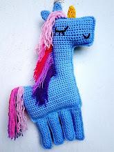 Unicornio a crochet