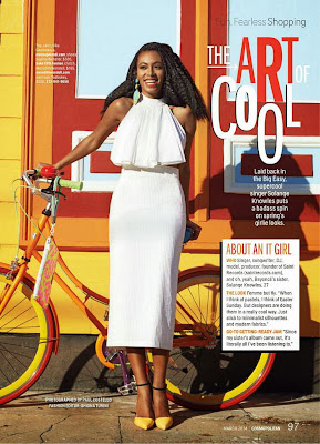 Solange Knowles HQ Pictures Cosmopolitan US Magazine Photoshoot March 2014