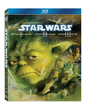 """STAR WARS"" - THE PREQUEL TRILOGY ON BLU-RAY"