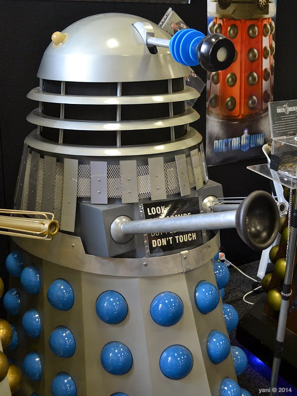 oz comic-con adelaide - blue dalek