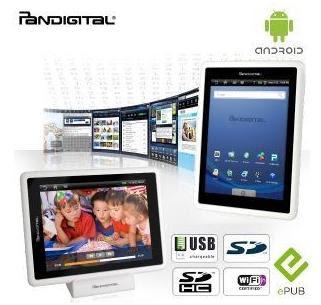 7 Android-Tablet Pandigital Novel bei iBood für 65,90 Euro inklusive Versandkosten