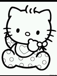 Dibujos de Hello Kitty para Pintar, parte 2