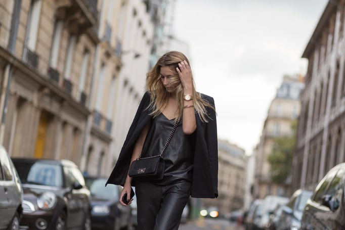 PFW Day 2 by Nabile Quenum - outside Chloe