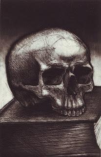 Greg Harrison mezzotint etching print