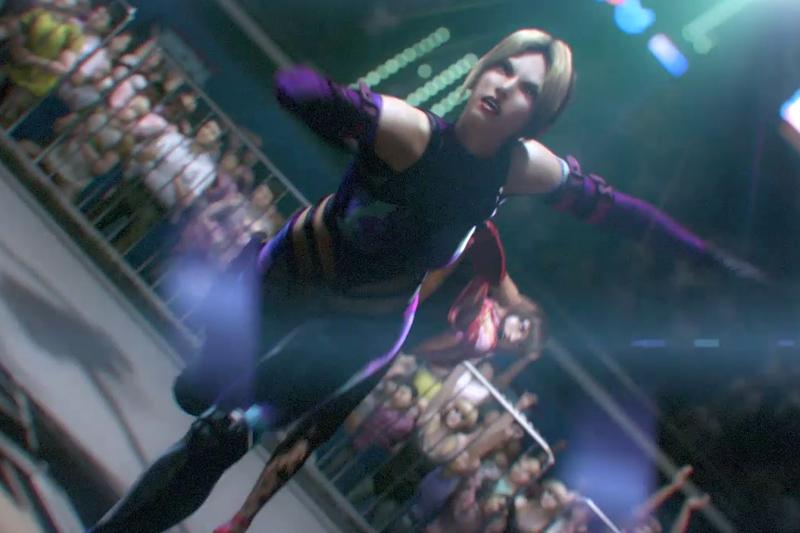 Tekken Nina FMV CG