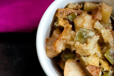 Hatch chile apple cobbler