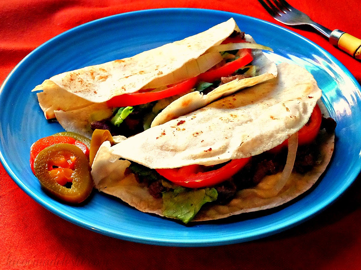 Steak Sincronizadas (de Bistec) - lacocinadeleslie.com
