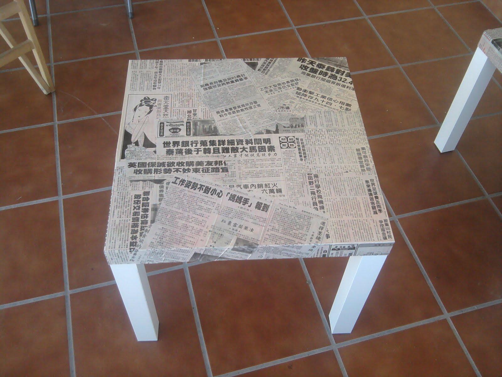 Ikea hack per dicos orientales para el sobre de las - Mesas japonesas ...