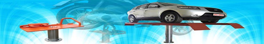 Cầu nâng 1 trụ chuyên rửa xe ô tô du lịch