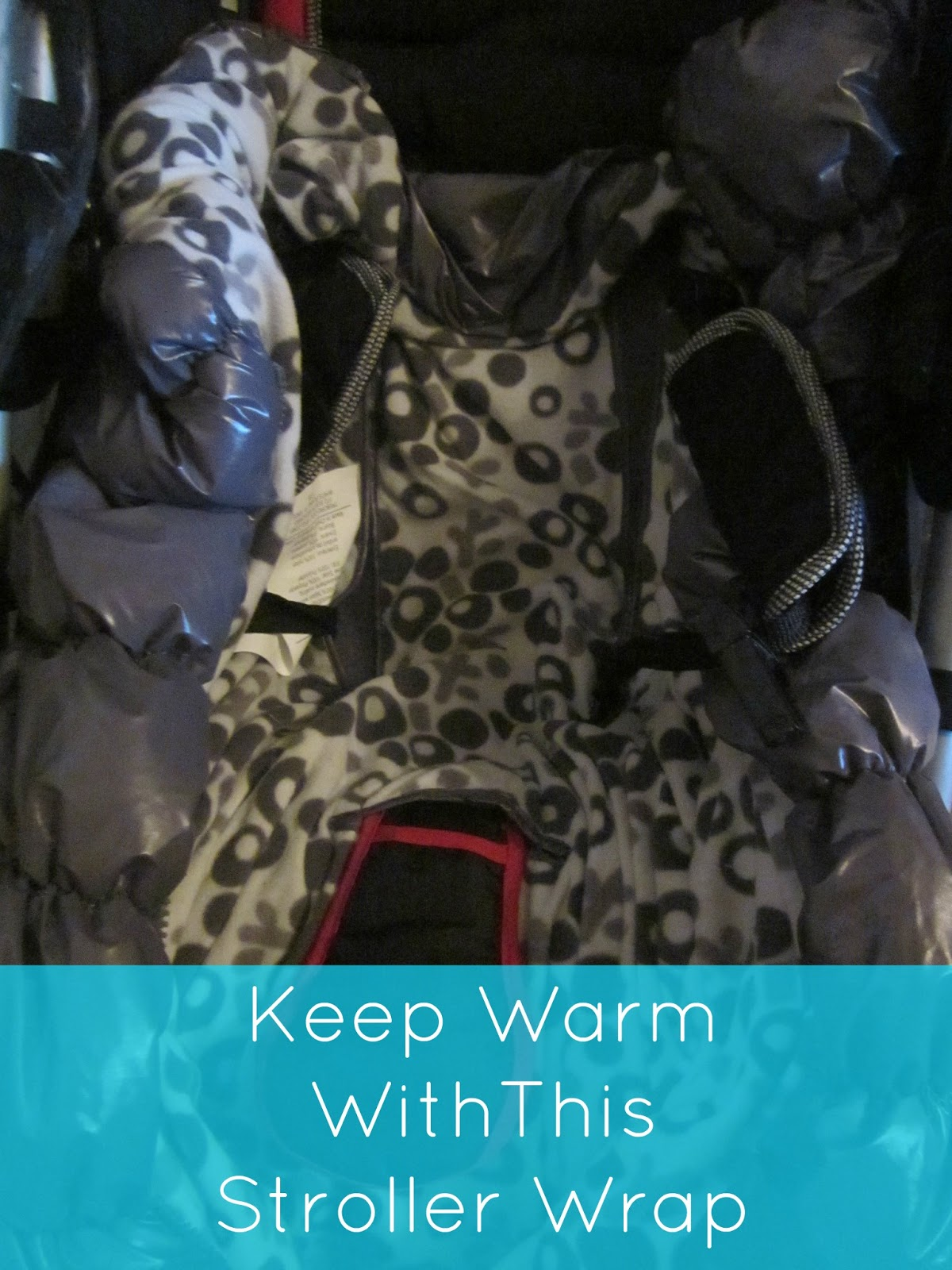 Soothe time stroller wrap