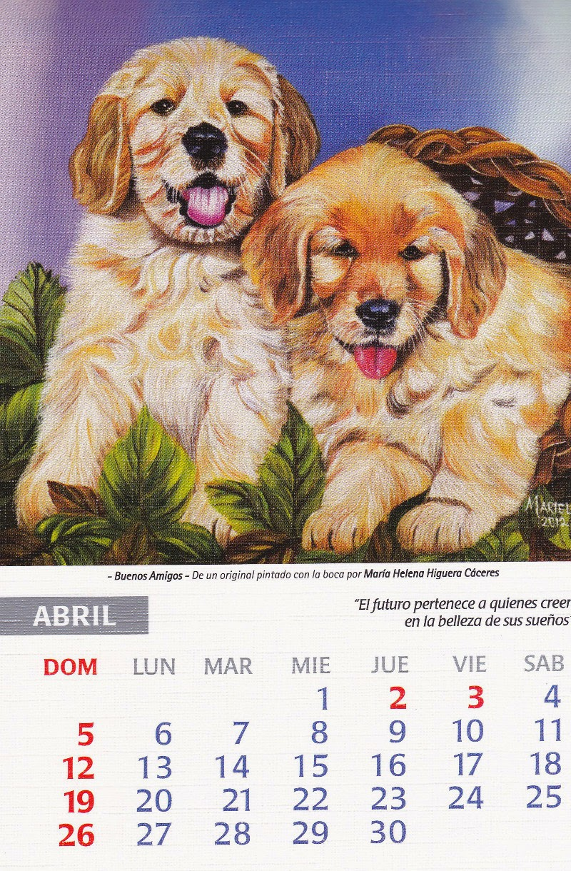 calendario 2015 abril