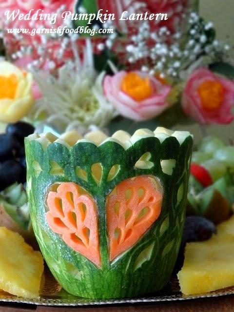 wedding decoration with pumpkin