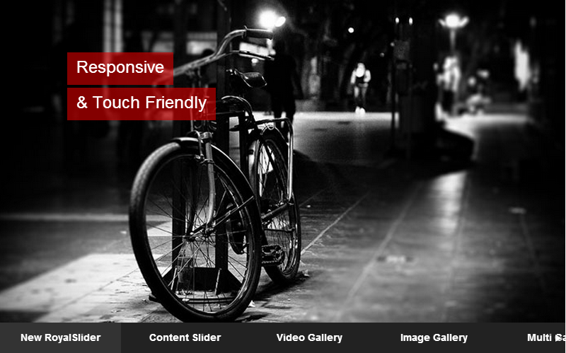 RoyalSlider – Touch Content Slider for WordPress