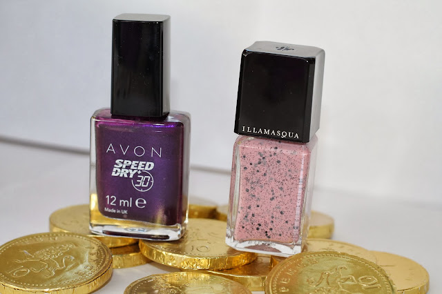 Avon Illamasqua Nail Polish Swatch and Review