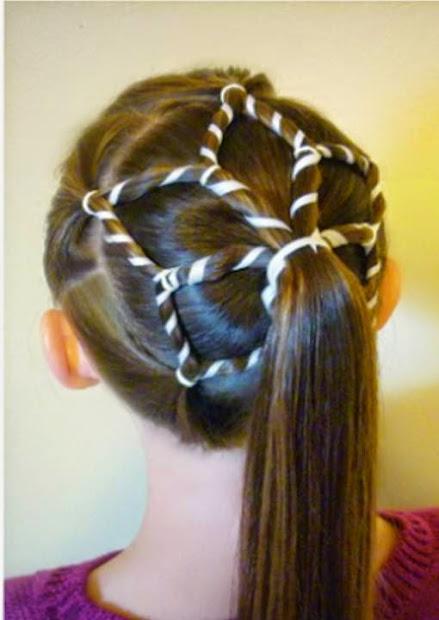 creative hair design little