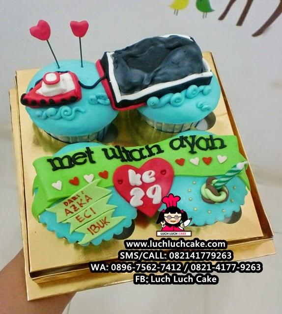 Cupcake Kapal Tongkang Batu Bara Daerah Surabaya - Sidoarjo