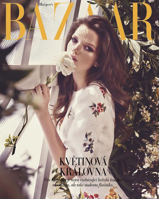 Fashion Model @ Eva Klimkova By Andreas Ortner For Harper'S Bazaar Czech, August 2015