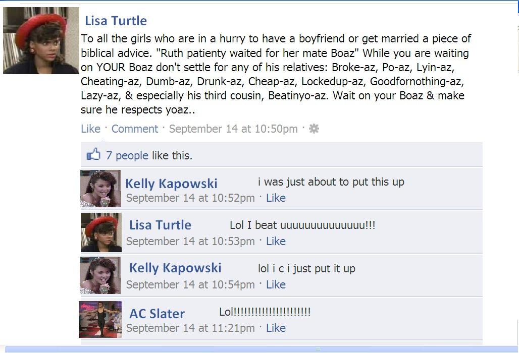Best Facebook Status in the History of Ever,  klik kanan lalu