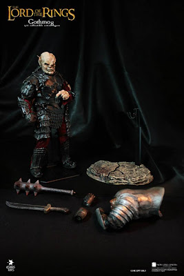 "Asmus Toys 1/6 Scale Lord of the Rings 12"" Gothmog Figure"