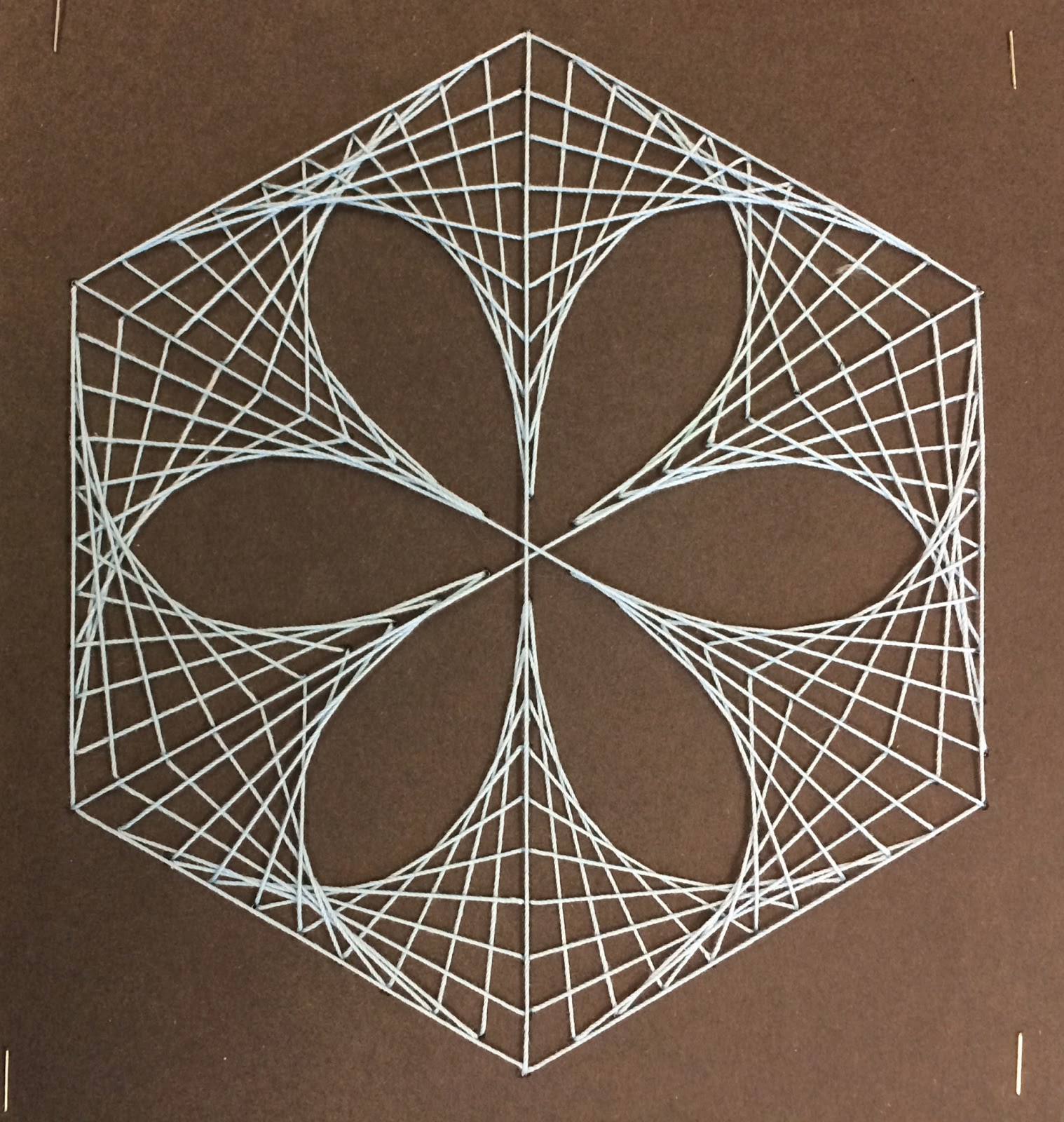 String Art: Art. Paper. Scissors. Glue!: Mathematic String Art