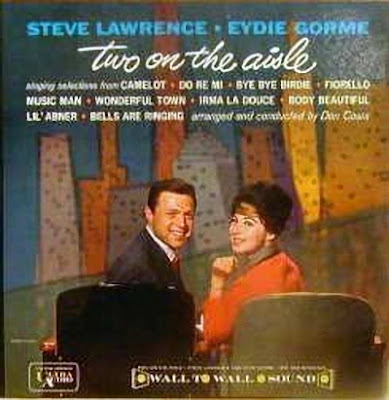 STEVE LAWRENCE AND EYDIE GORME Two on the aisle