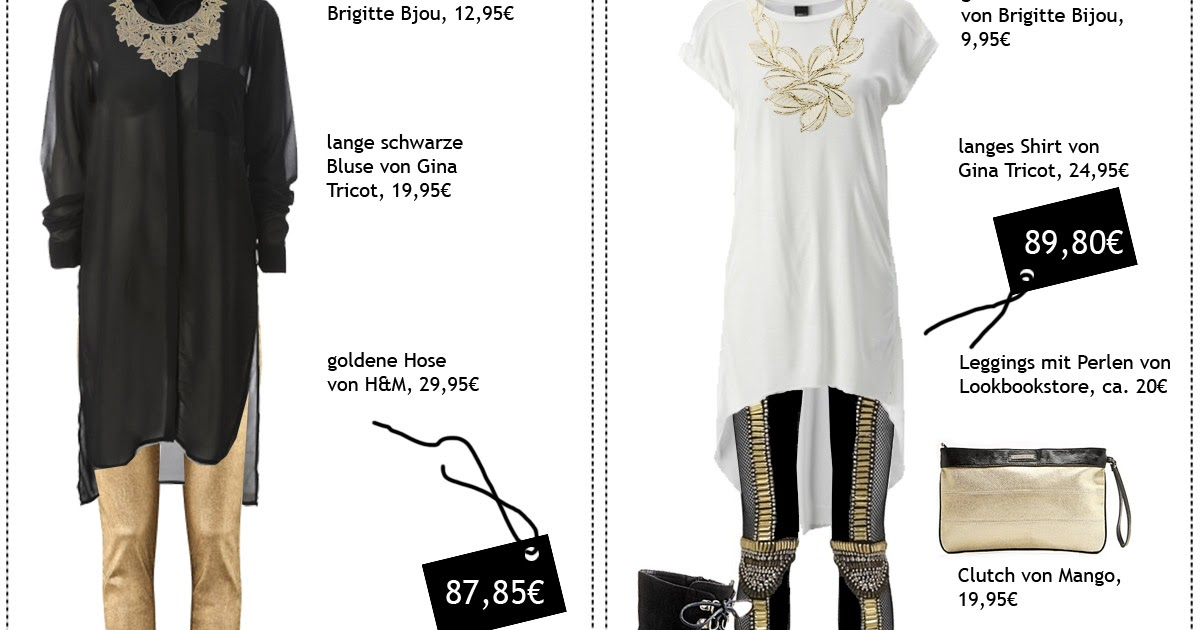 Fashion Love: GOLDIGE OUTFITS UNTER 100€