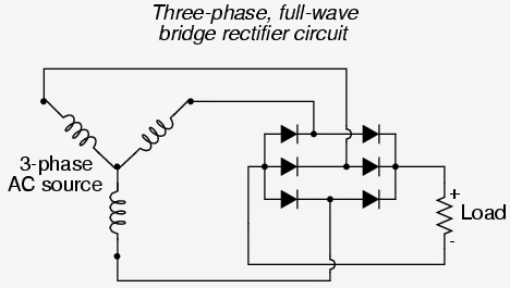schematic 3 phase generator ireleast info three phase signal generator circuit from a single phase source wiring schematic